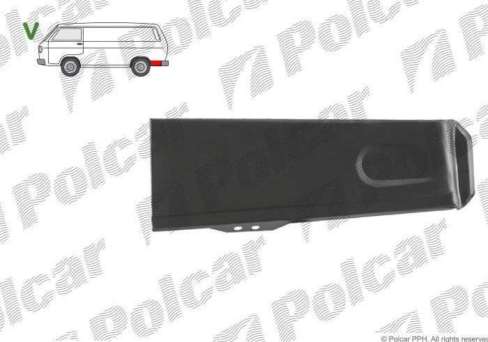 купить кузовные детали на фольксваген транспортер т3